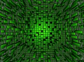 Green Greeble background