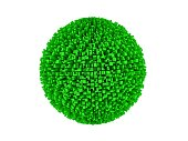 Green Greeble sphere