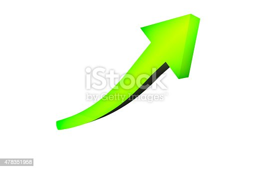 istock Green Growth Arrow 478351958
