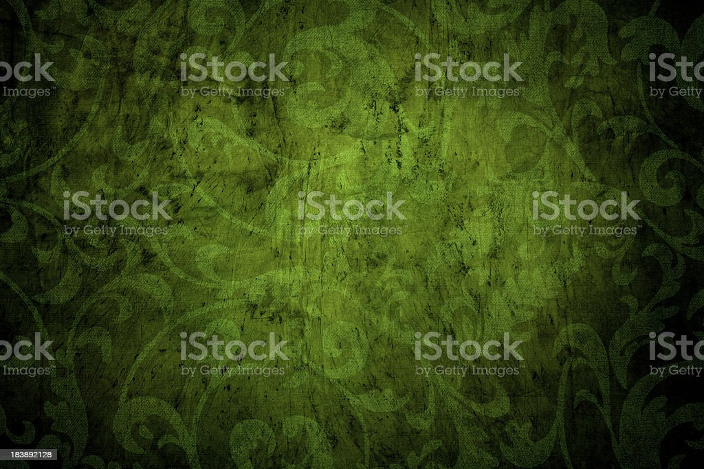 Green Grunge Background royalty-free stock photo