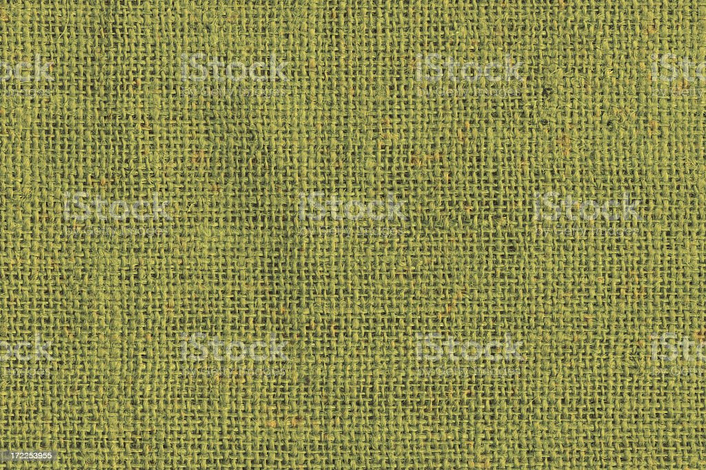 Green grunge canvas texture royalty-free stock photo