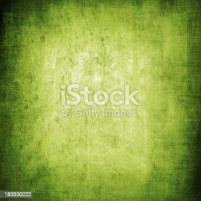 istock Green grunge texture background 183330222