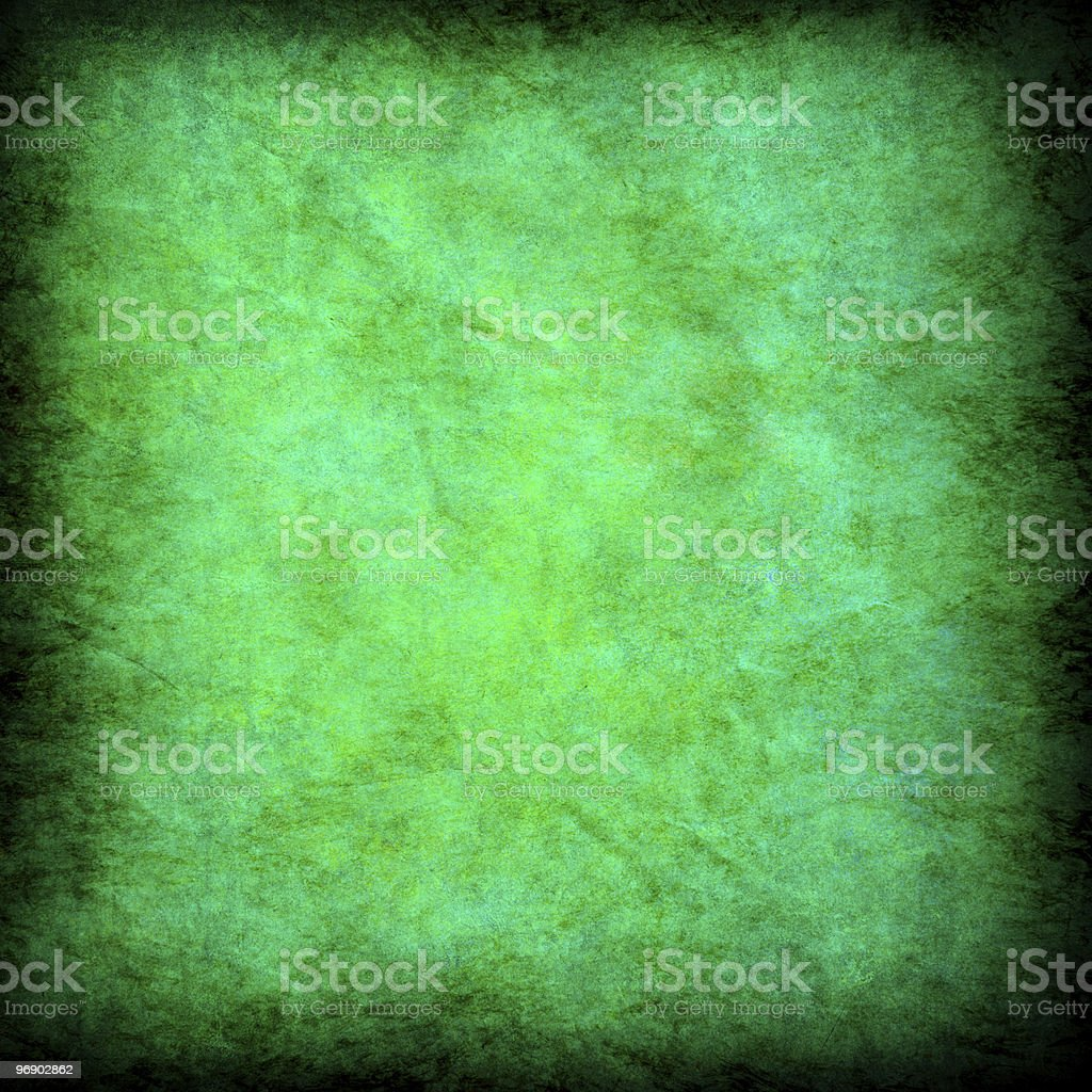 green grunge textured abstract background royalty-free stock photo