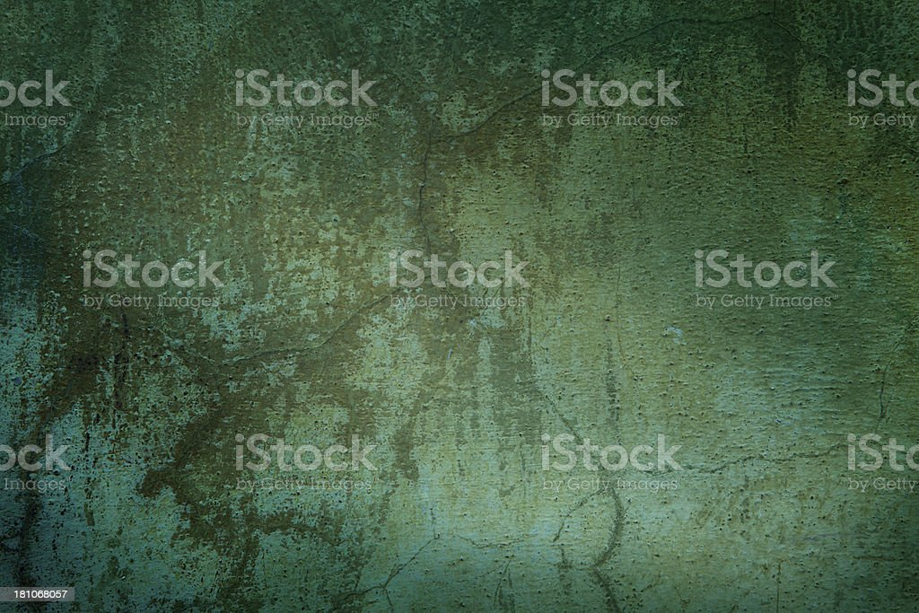 Green grunge textured background royalty-free stock photo