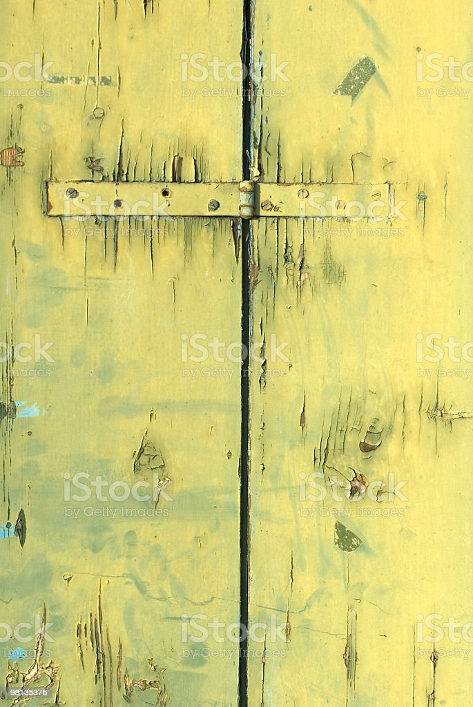 green grunge wood royalty-free stock photo