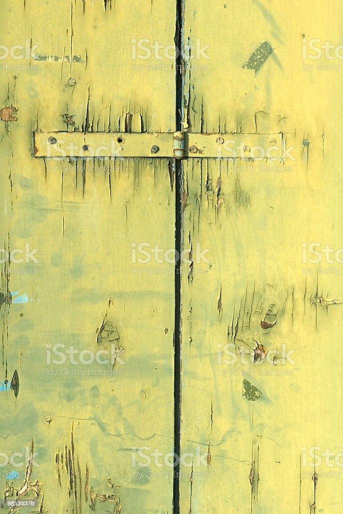 Verde grunge in legno foto stock royalty-free