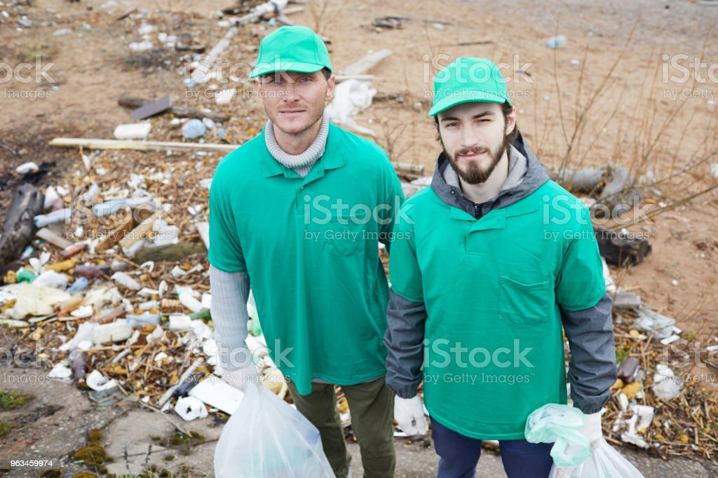 Cleaning, Garbage, Working, Russia, Adult. Green guys ...