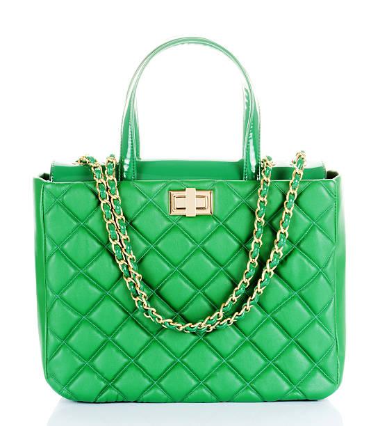 Grüne Handtasche – Foto