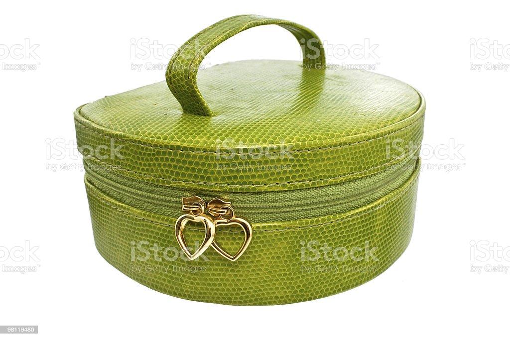 Borsa verde foto stock royalty-free