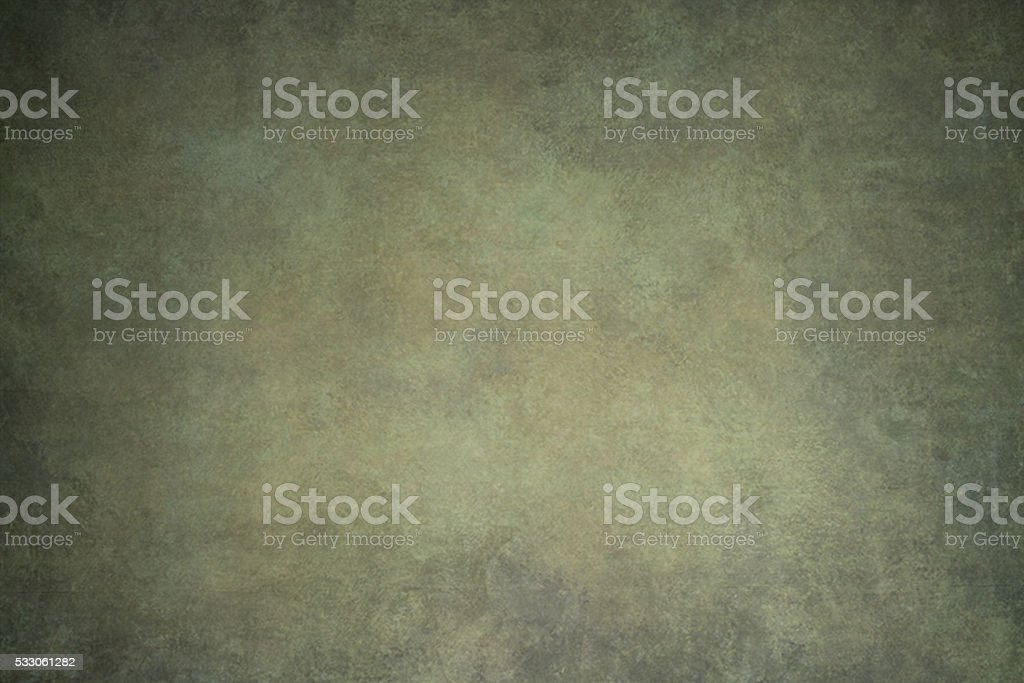 Green hand-painted backdrop stock photo