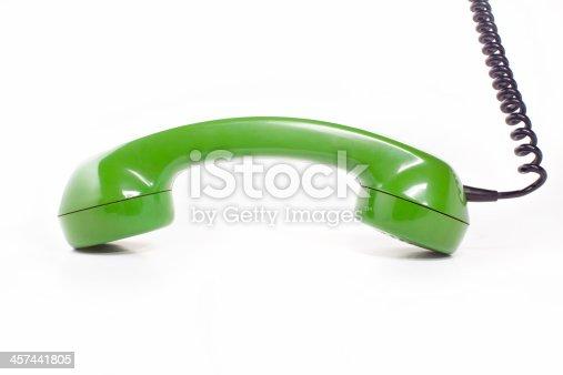 istock green handset 457441805