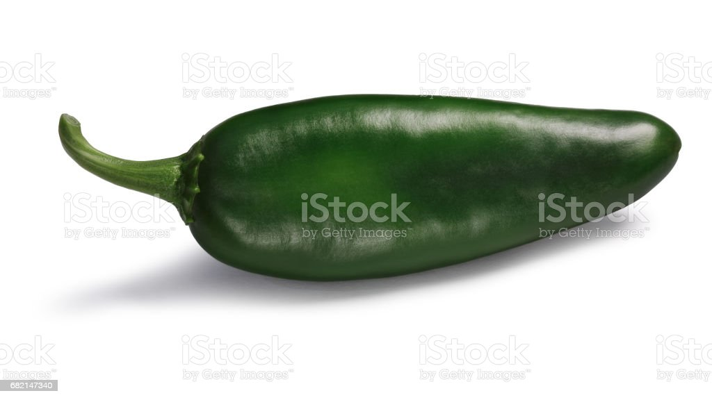 Green Hatch Numex chile, paths stock photo