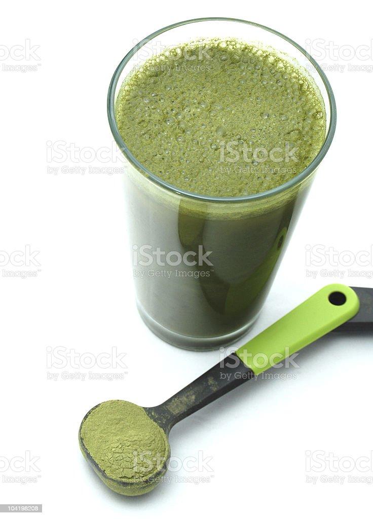 Green Health Shake royalty-free stock photo