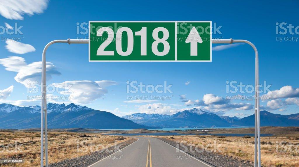 Resultado de imagem para 2018 road sign