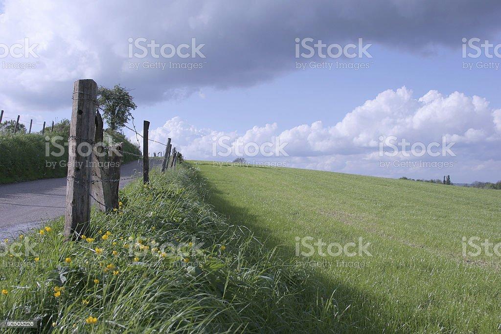 green hills 3 royalty-free stock photo