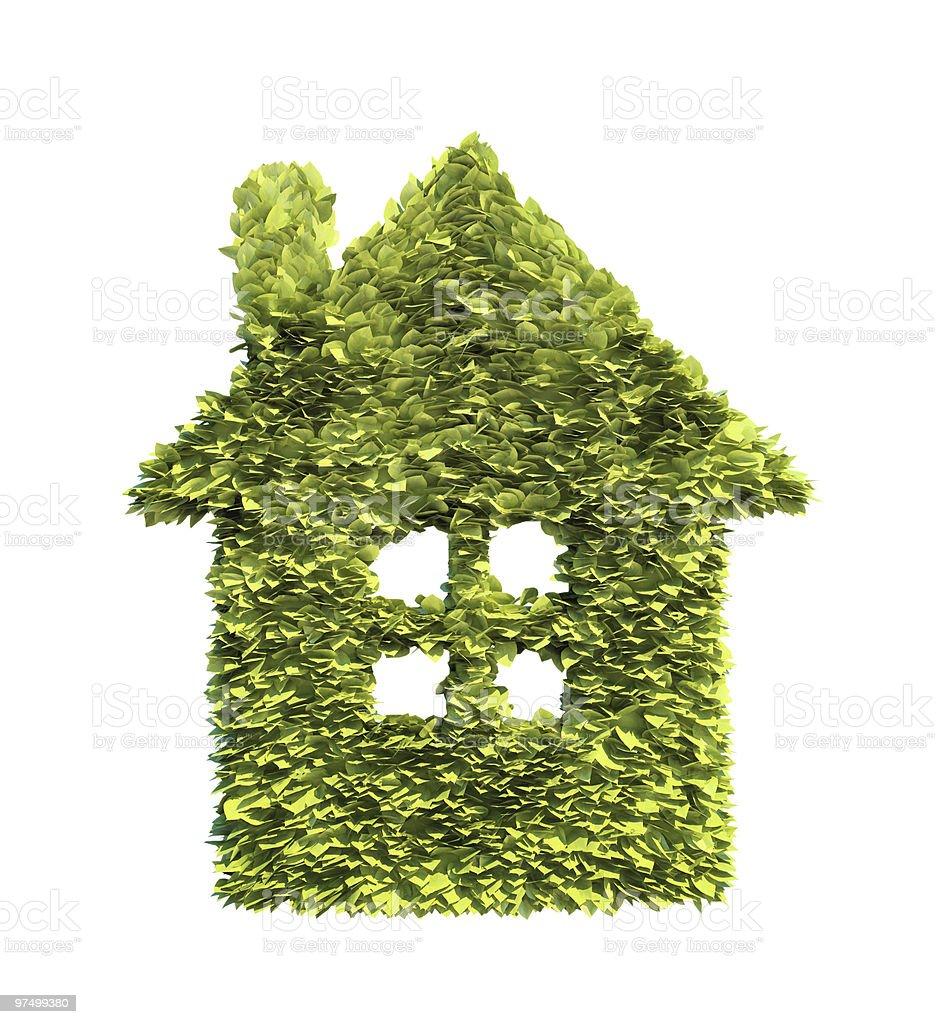 Green home-symbol – Foto