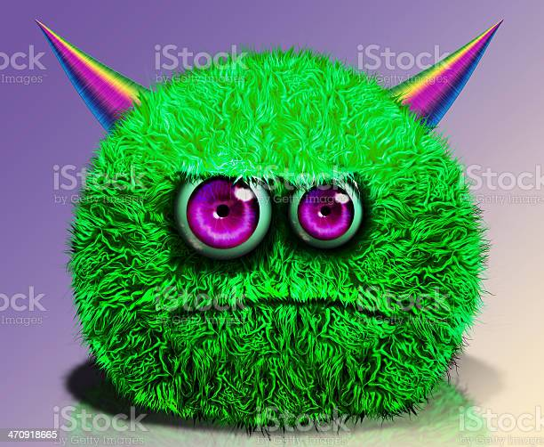 Green horned furry monster picture id470918665?b=1&k=6&m=470918665&s=612x612&h=j5usujiacx2h64847tz7mhwkxgjw9ser2hkifbtnm20=