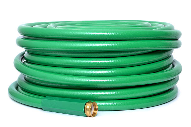 green hose - garden hose stock pictures, royalty-free photos & images
