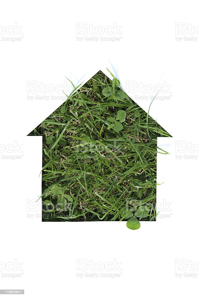 Green Housing royalty-free stock photo