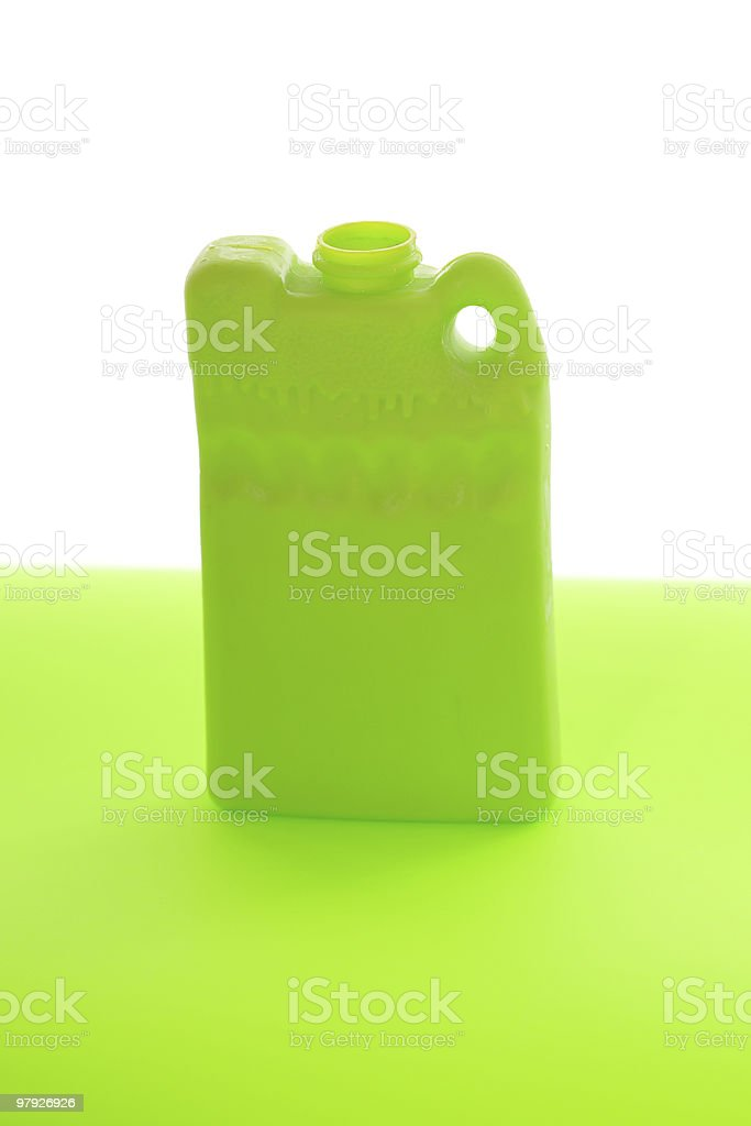 Green ice pack on a table royalty-free stock photo