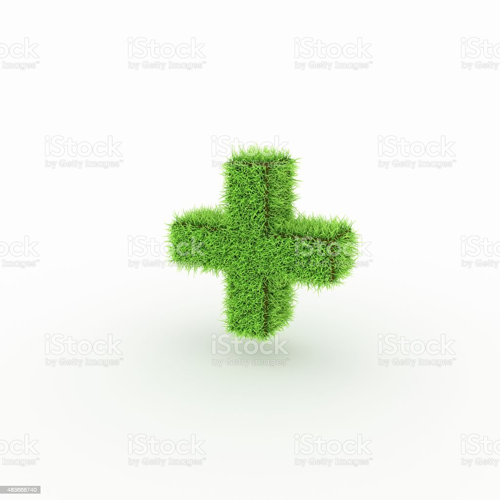 Green Icon - plus, add stock photo