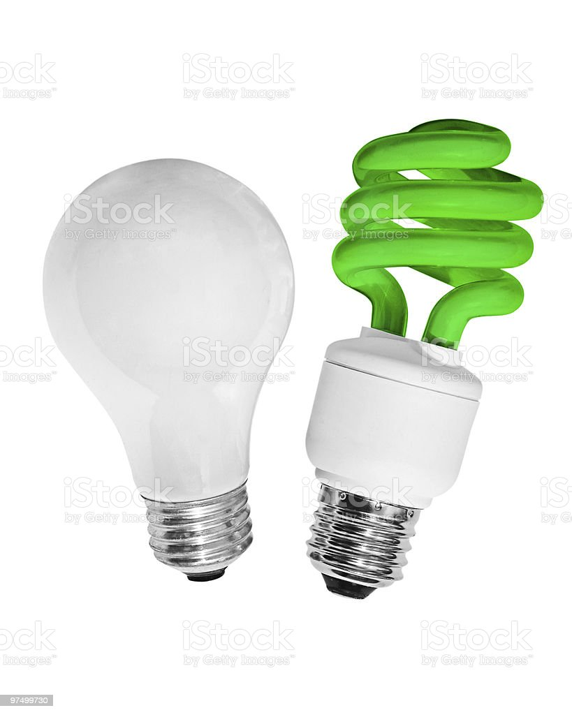 green idea royalty-free stock photo