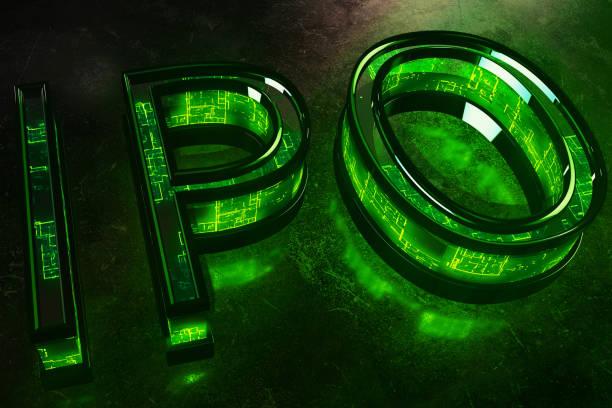 Grün-IPO-Hintergrund – Foto