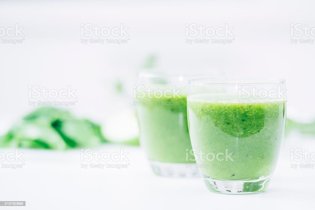 Green is healthy! stock photo