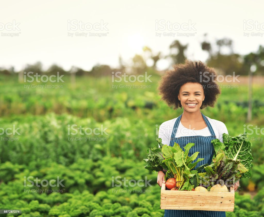 Green is the only way for me - foto stock