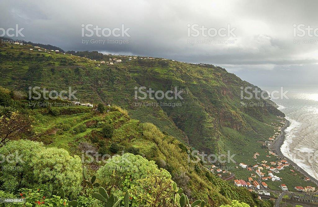 Green island Madeira. royalty-free stock photo