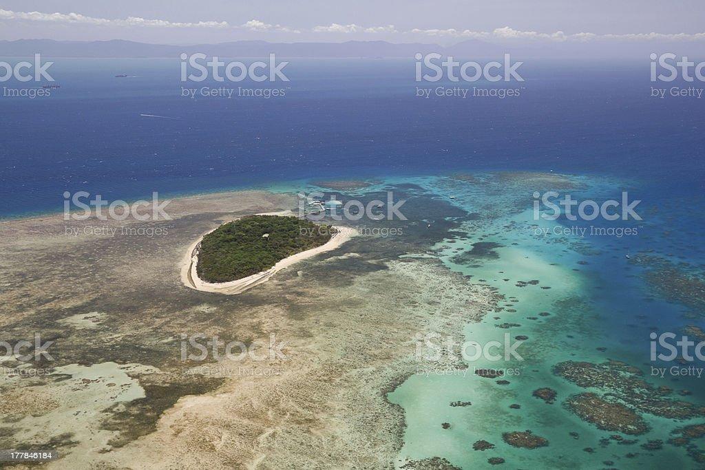 Green island royalty-free stock photo