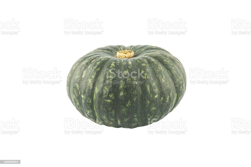 Green Japanese Pumpkin stock photo