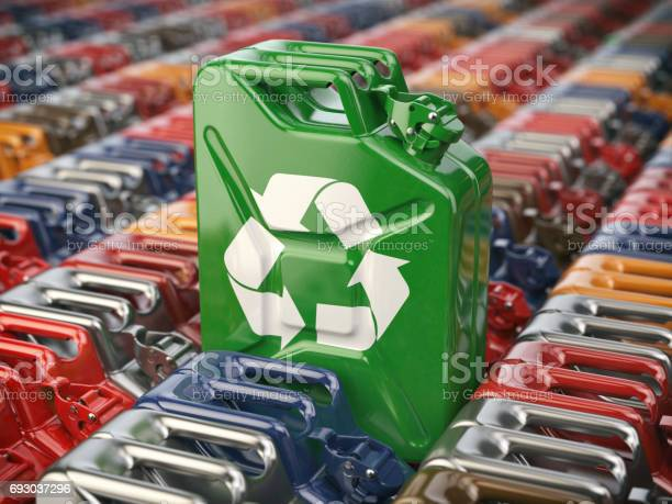 Green jerrycan with recycle sign biofuel recycling and energy picture id693037296?b=1&k=6&m=693037296&s=612x612&h=h uchq5tgrb8dl5klf8izdkys6ejftnqlw8tbjfxsg8=
