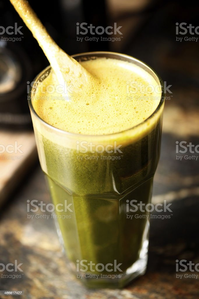 Green Juice royalty-free stock photo