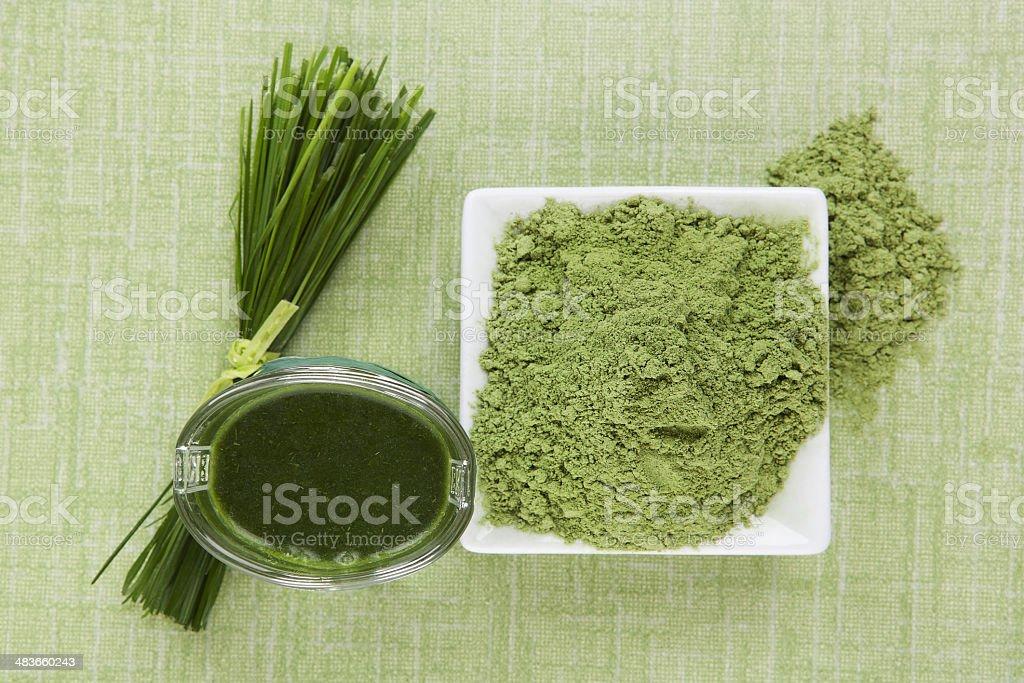 Green juice. stock photo