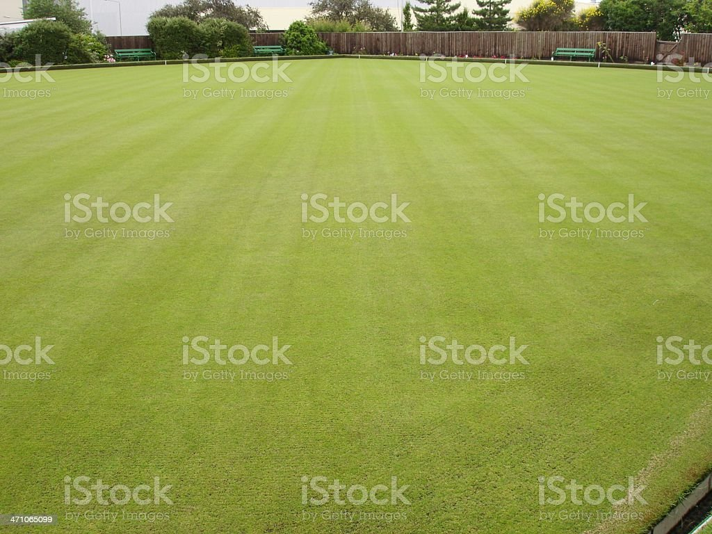 Green keeper's pride stock photo