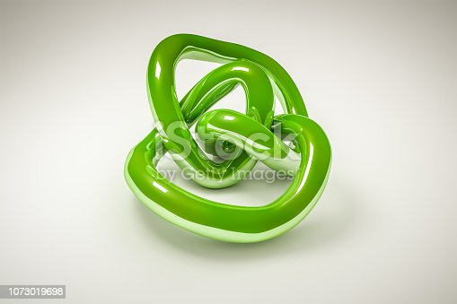 175960311 istock photo green knot 1073019698
