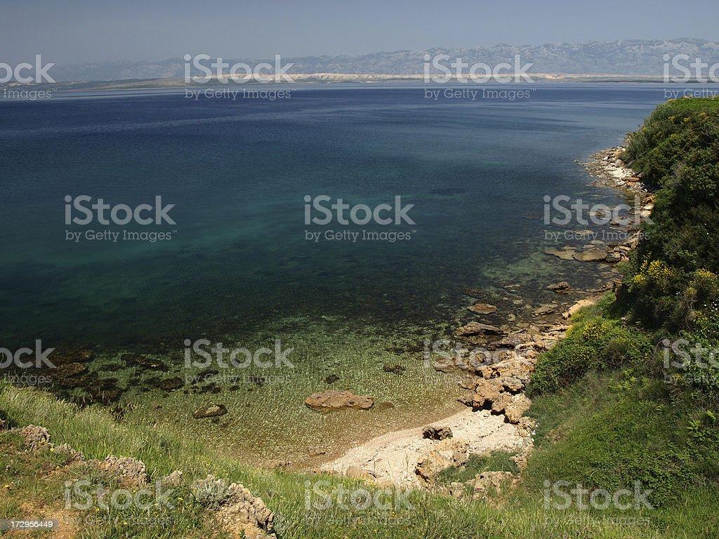 Green lagoon royalty-free stock photo