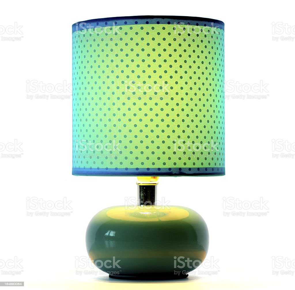 Green Lamp royalty-free stock photo