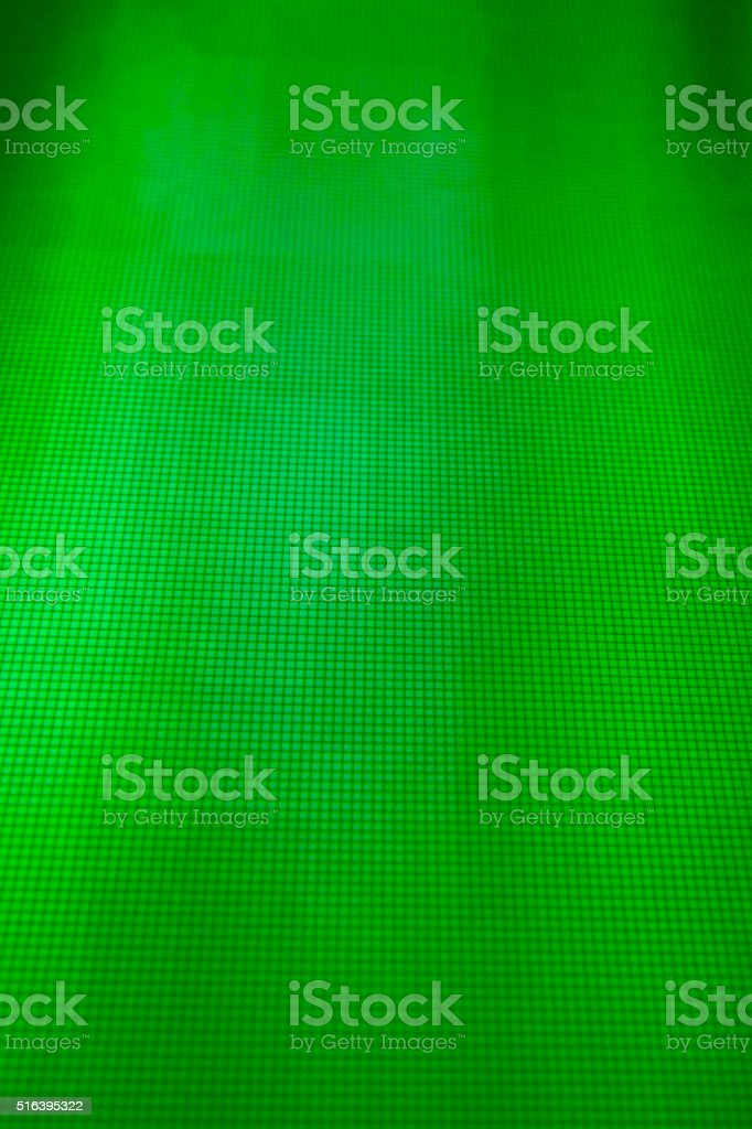 green LCD movie projector broadcast digital noise electronic signal failure stock photo