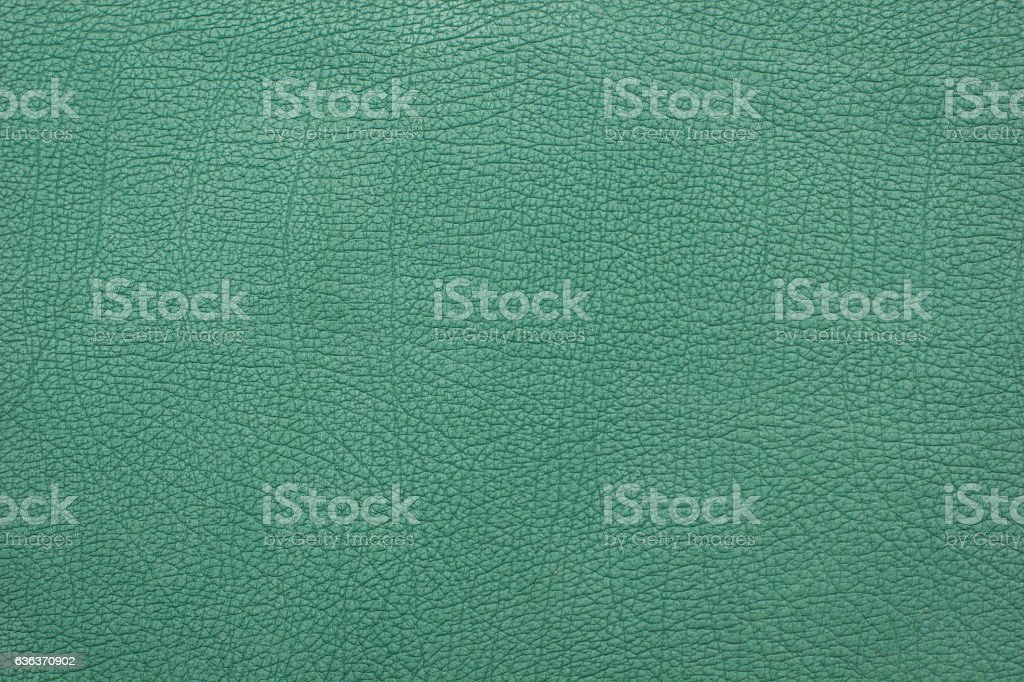 green leather background stock photo