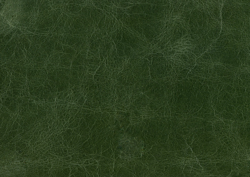 High resolution green leather texture.