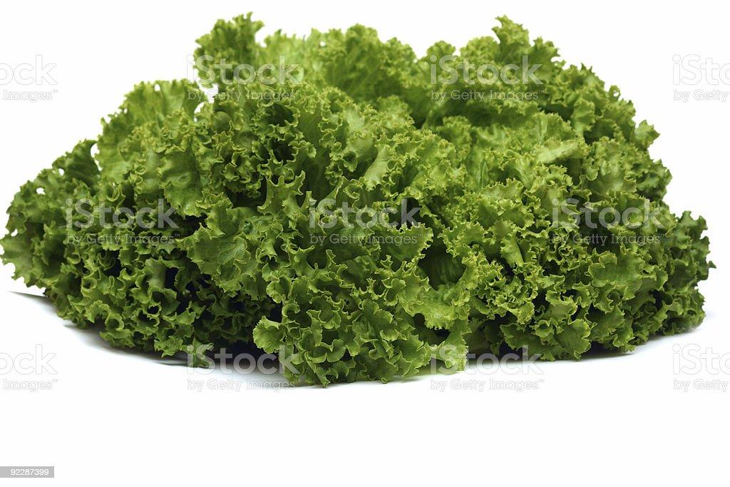Green lettuce royalty-free stock photo
