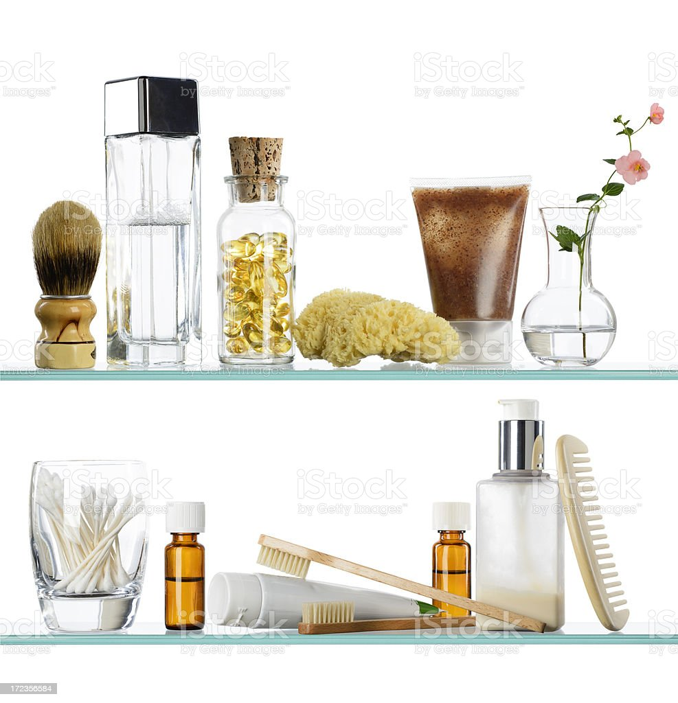 Green Lifestyle Medicine Cabinet - XXXL stock photo