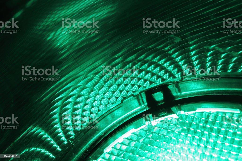 Green Light stock photo