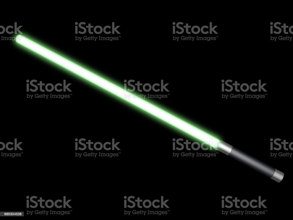 Grünes Licht saber – Foto