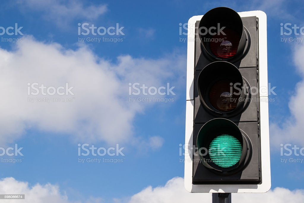 Green light signal. – Foto