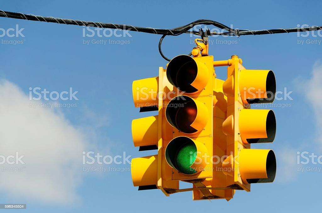 Green Light Traffic Signal royalty-free stock photo