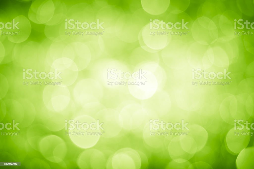Green lights stock photo