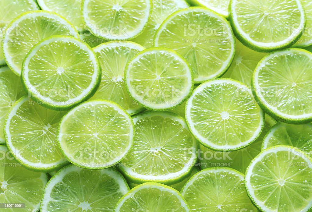 Green lime background stock photo